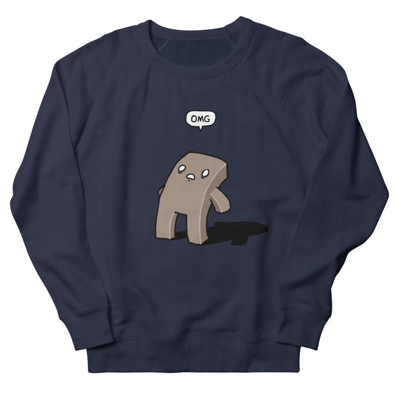Oh The Humanity Men's Sweatshirt by Damien Mason's Artist Shop