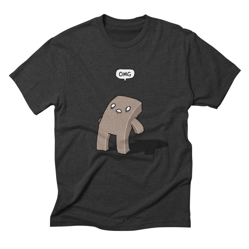 Oh The Humanity Men's Triblend T-Shirt by Damien Mason's Artist Shop
