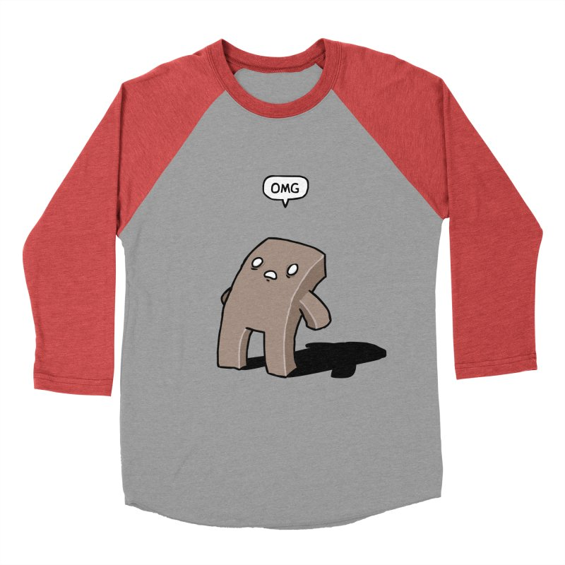 Oh The Humanity Men's Baseball Triblend Longsleeve T-Shirt by Damien Mason's Artist Shop
