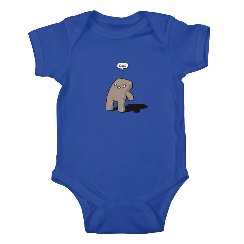 Oh The Humanity Kids Baby Bodysuit by Damien Mason's Artist Shop