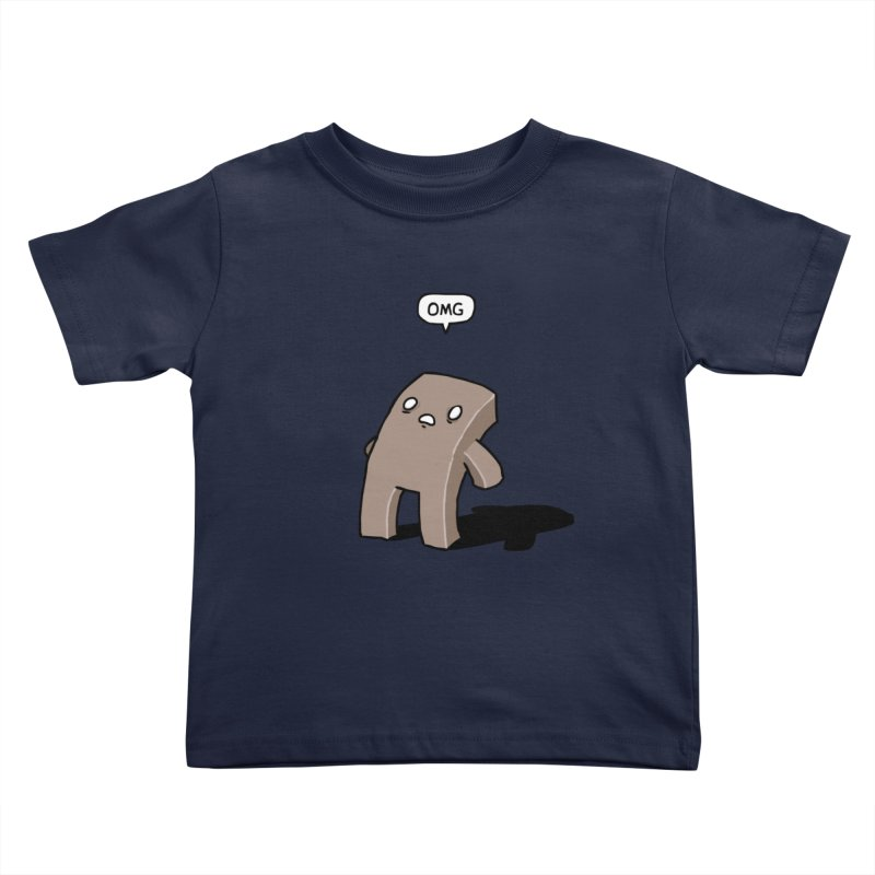 Oh The Humanity Kids Toddler T-Shirt by Damien Mason's Artist Shop