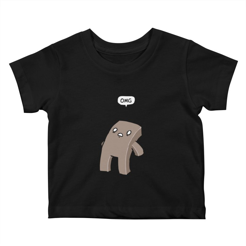 Oh The Humanity Kids Baby T-Shirt by Damien Mason's Artist Shop
