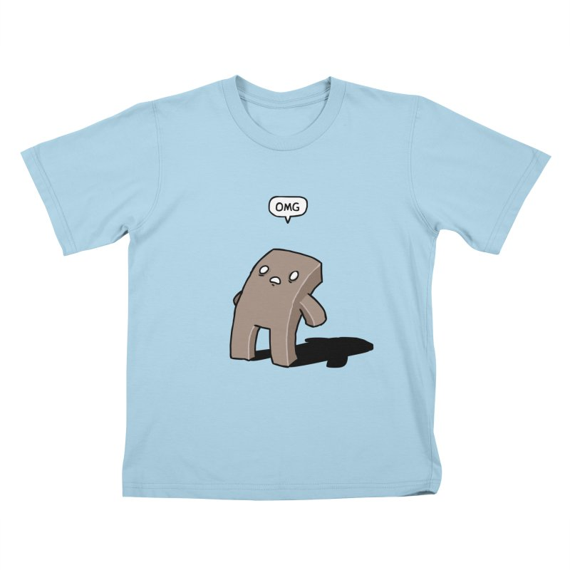 Oh The Humanity Kids T-shirt by Damien Mason's Artist Shop