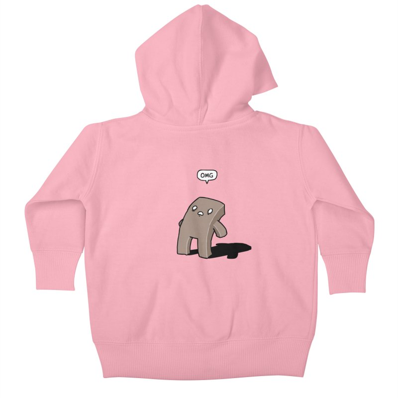 Oh The Humanity Kids Baby Zip-Up Hoody by Damien Mason's Artist Shop