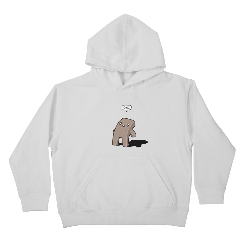 Oh The Humanity Kids Pullover Hoody by Damien Mason's Artist Shop