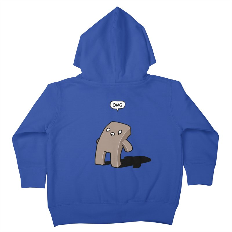 Oh The Humanity Kids Toddler Zip-Up Hoody by Damien Mason's Artist Shop