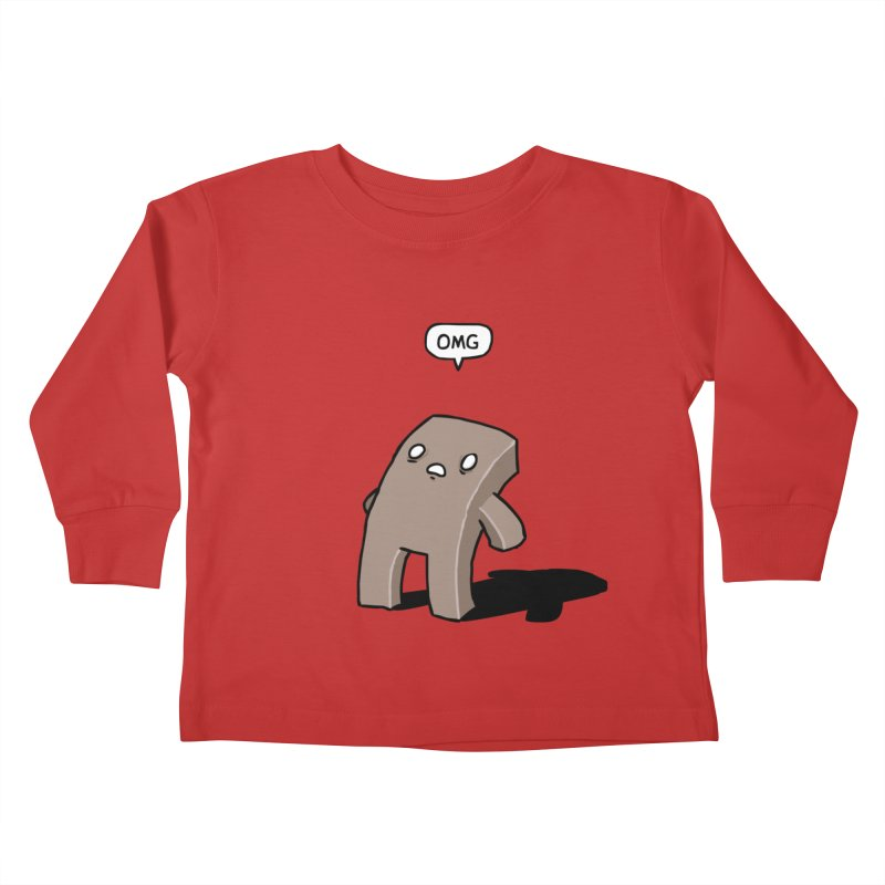 Oh The Humanity Kids Toddler Longsleeve T-Shirt by Damien Mason's Artist Shop