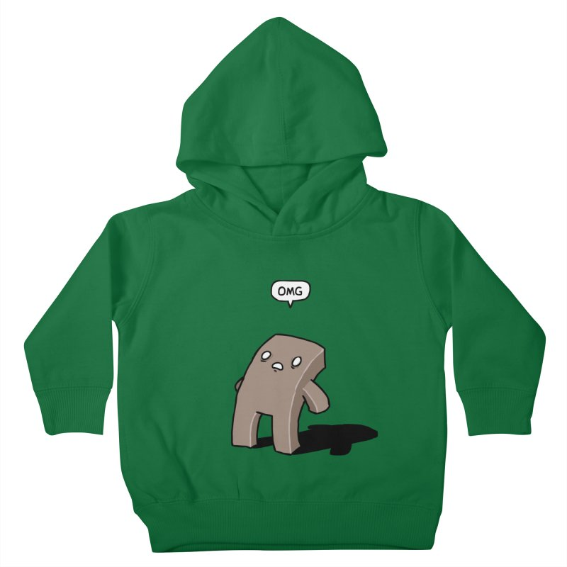Oh The Humanity Kids Toddler Pullover Hoody by Damien Mason's Artist Shop