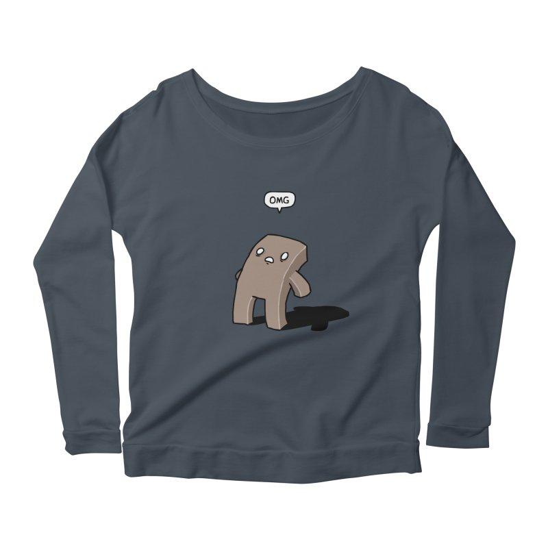 Oh The Humanity Women's Scoop Neck Longsleeve T-Shirt by Damien Mason's Artist Shop