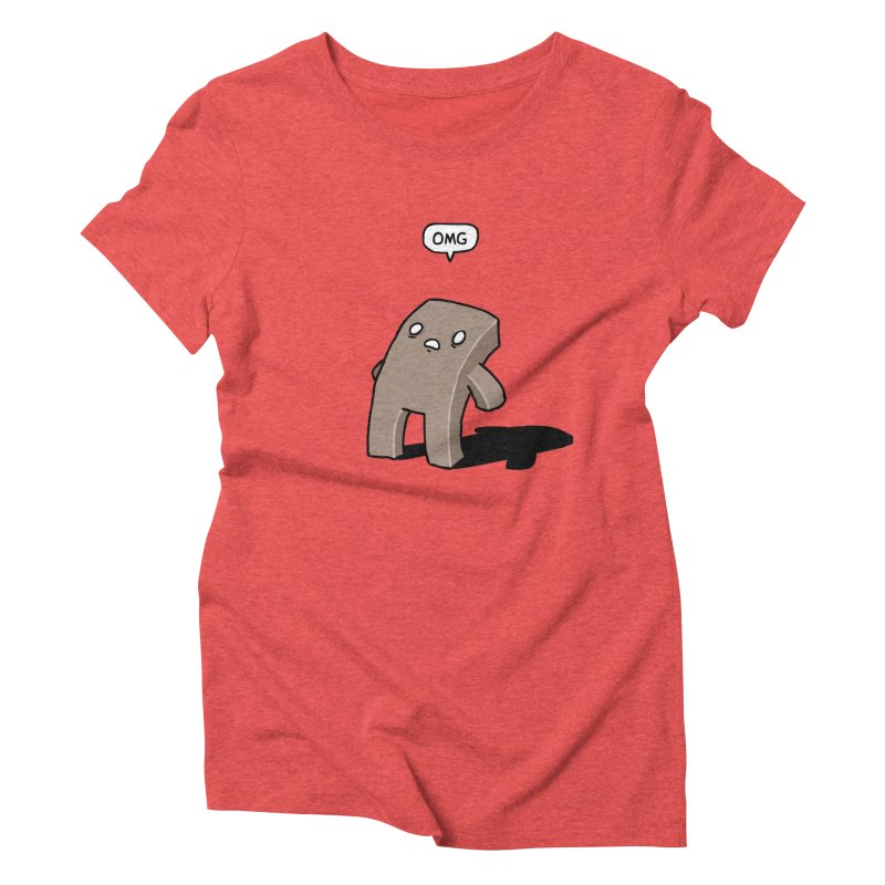 Oh The Humanity Women's Triblend T-shirt by Damien Mason's Artist Shop