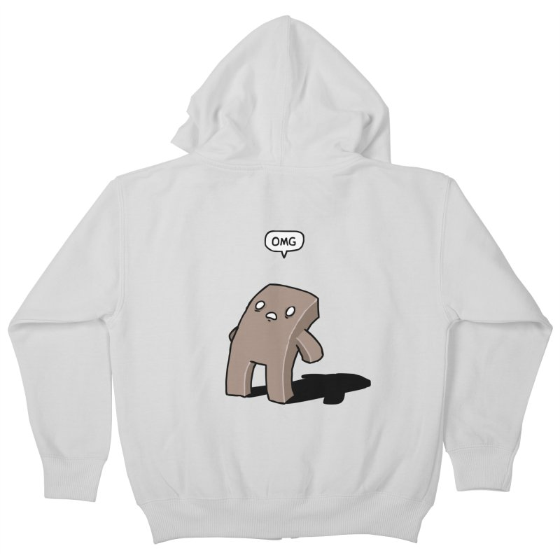 Oh The Humanity Kids Zip-Up Hoody by Damien Mason's Artist Shop