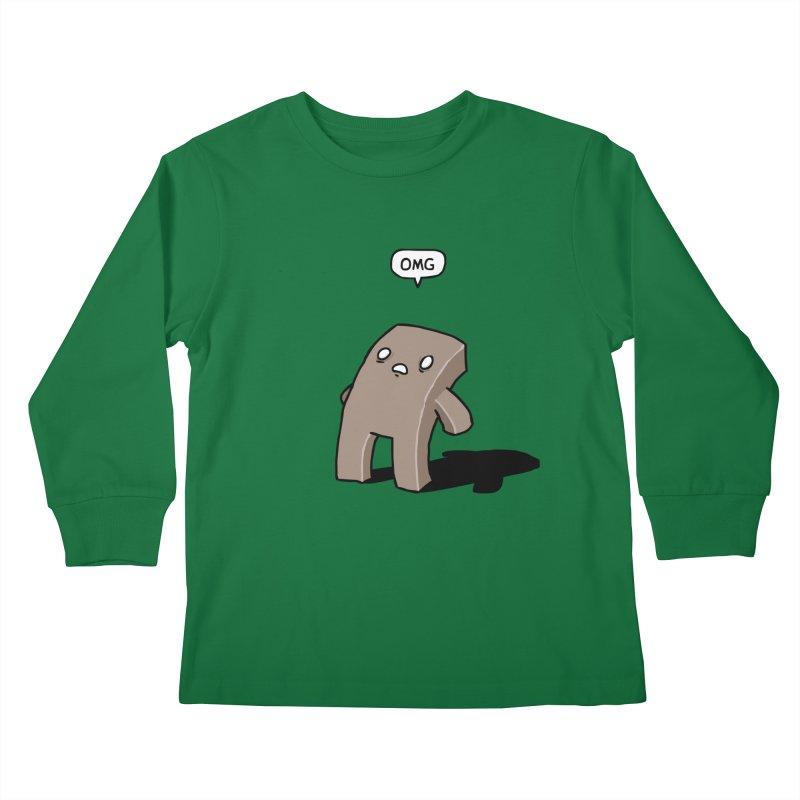 Oh The Humanity Kids Longsleeve T-Shirt by Damien Mason's Artist Shop