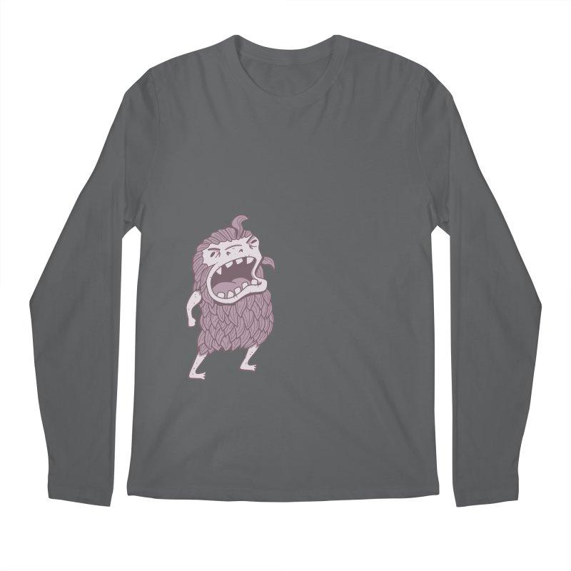 Sasquatch Men's Regular Longsleeve T-Shirt by Damien Mason's Artist Shop