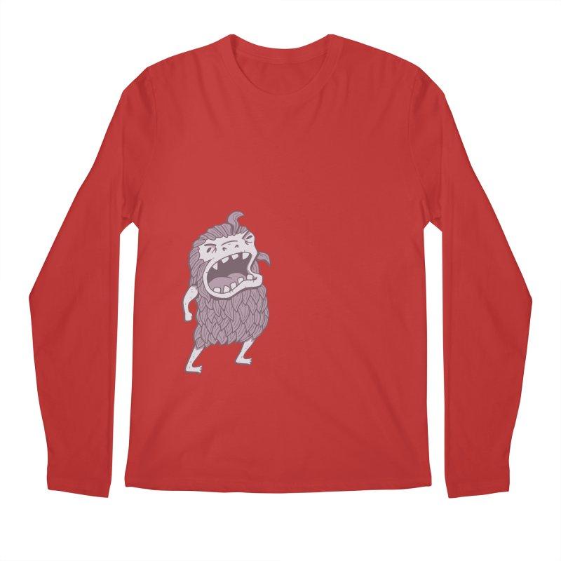 Sasquatch Men's Longsleeve T-Shirt by Damien Mason's Artist Shop