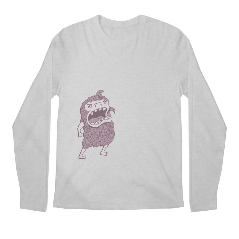 Sasquatch Men's Longsleeve T-Shirt by Damien Mason's Artist Shop