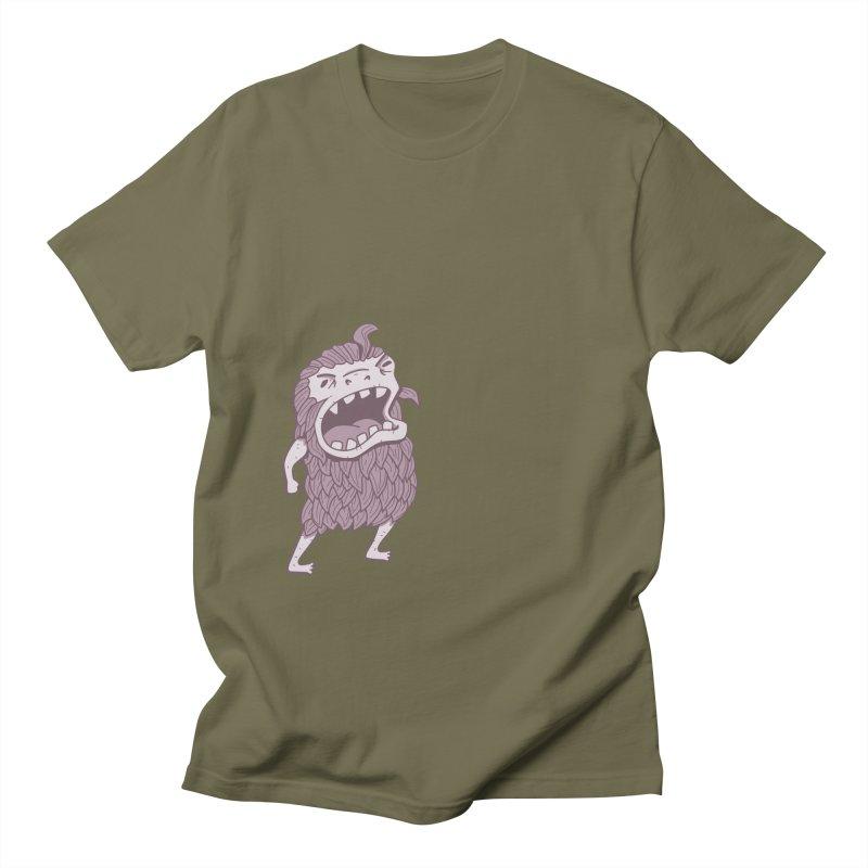 Sasquatch Men's T-Shirt by Damien Mason's Artist Shop