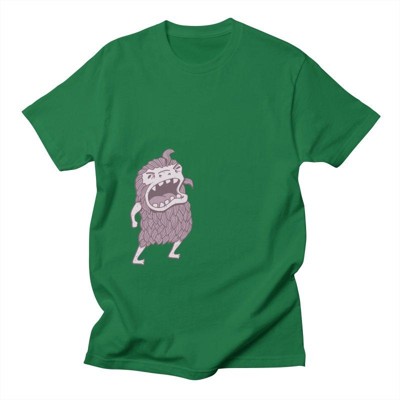 Sasquatch Men's Regular T-Shirt by Damien Mason's Artist Shop