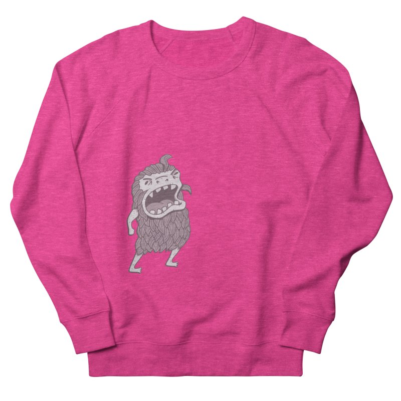 Sasquatch Women's Sweatshirt by Damien Mason's Artist Shop