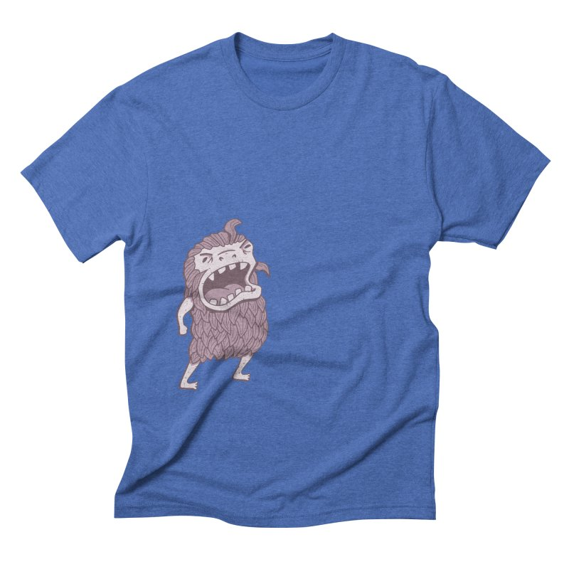 Sasquatch Men's Triblend T-Shirt by Damien Mason's Artist Shop