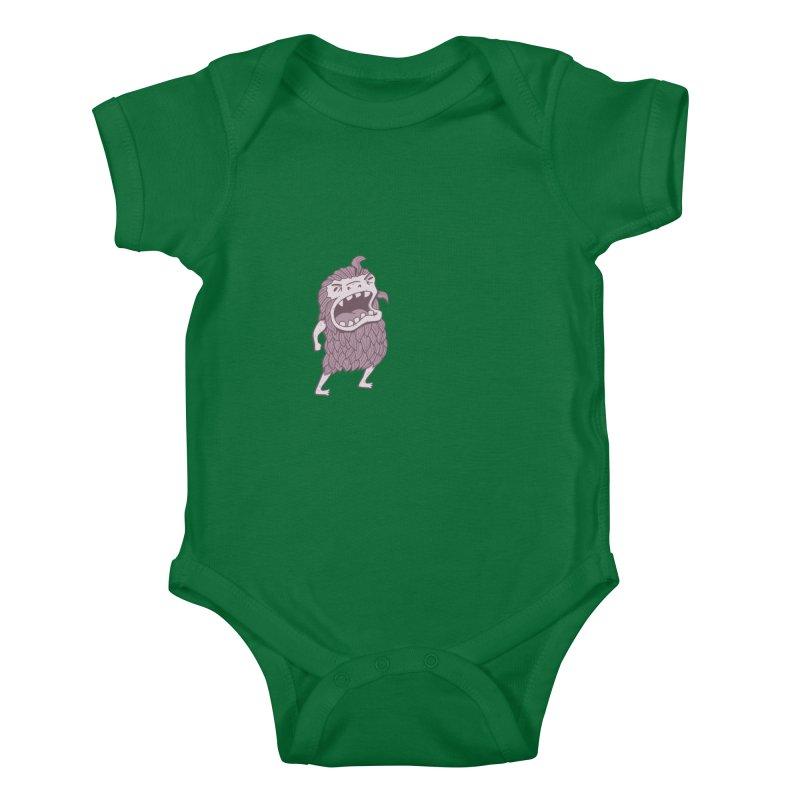 Sasquatch Kids Baby Bodysuit by Damien Mason's Artist Shop
