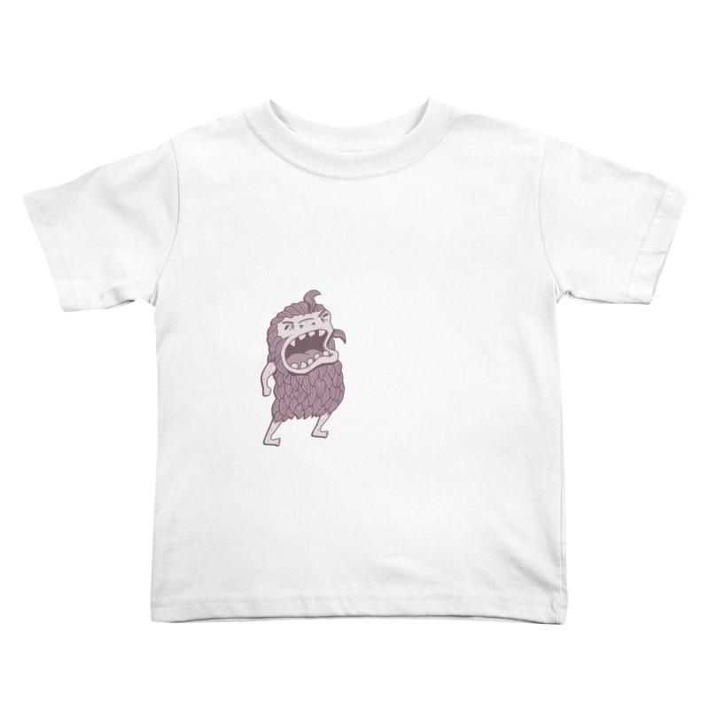 Sasquatch Kids Toddler T-Shirt by Damien Mason's Artist Shop