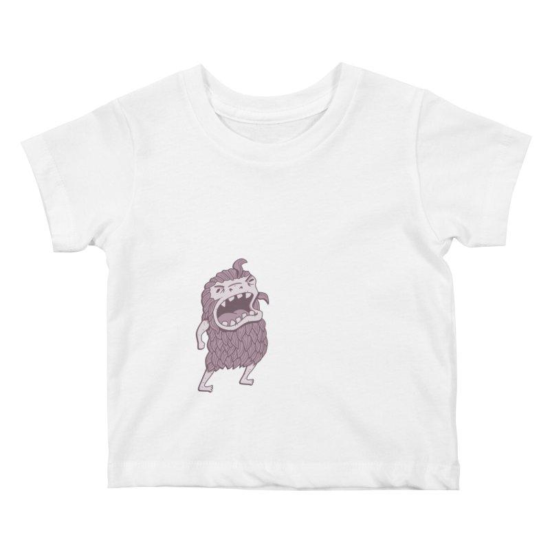 Sasquatch Kids Baby T-Shirt by Damien Mason's Artist Shop