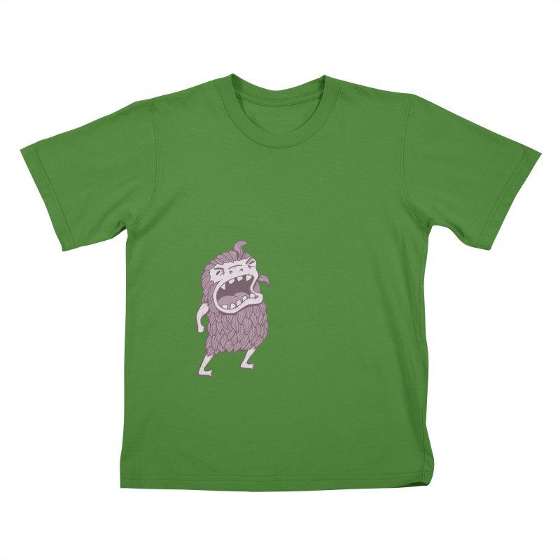 Sasquatch Kids T-Shirt by Damien Mason's Artist Shop