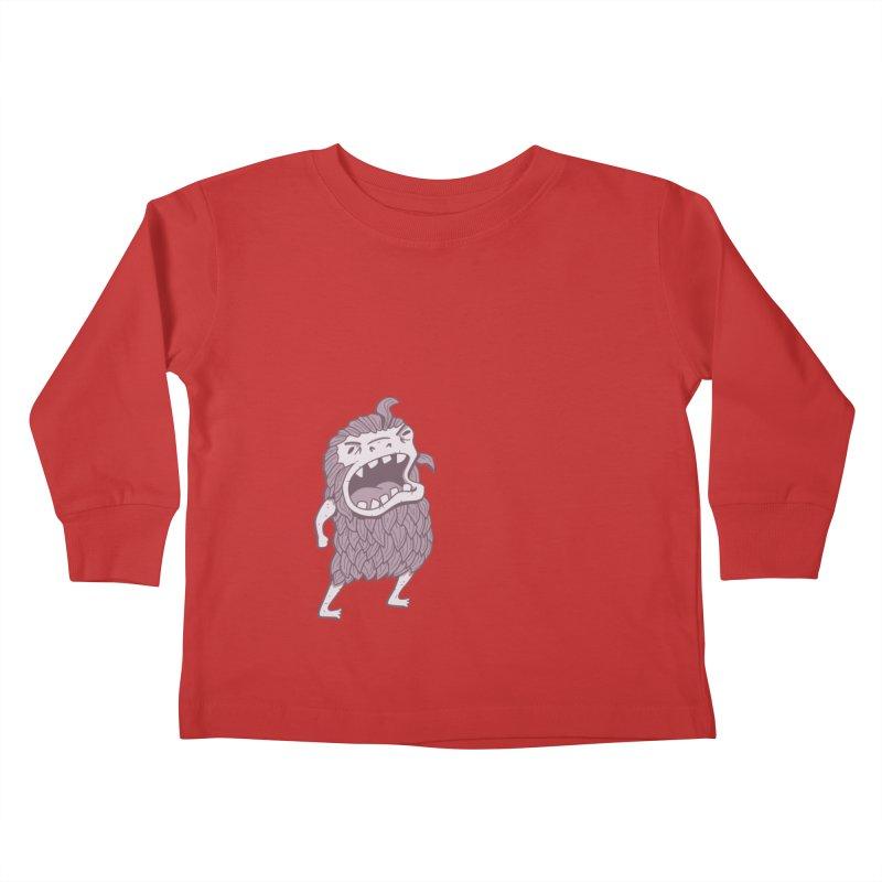 Sasquatch Kids Toddler Longsleeve T-Shirt by Damien Mason's Artist Shop