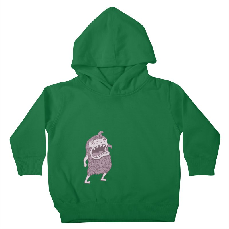 Sasquatch Kids Toddler Pullover Hoody by Damien Mason's Artist Shop