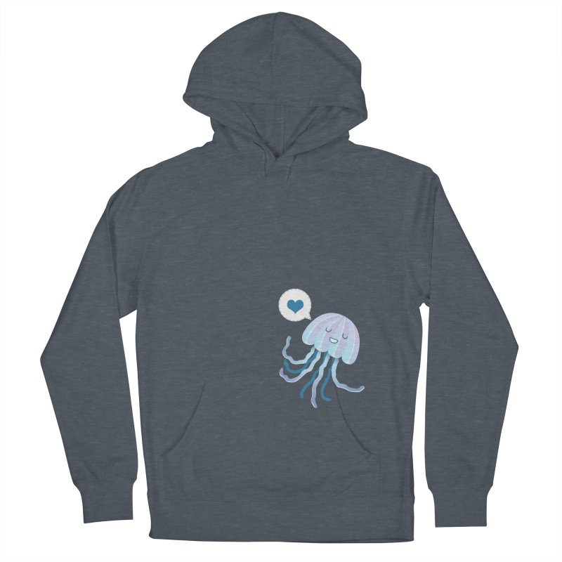 Jelly! Women's French Terry Pullover Hoody by Damien Mason's Artist Shop