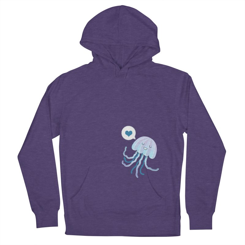 Jelly! Men's French Terry Pullover Hoody by Damien Mason's Artist Shop