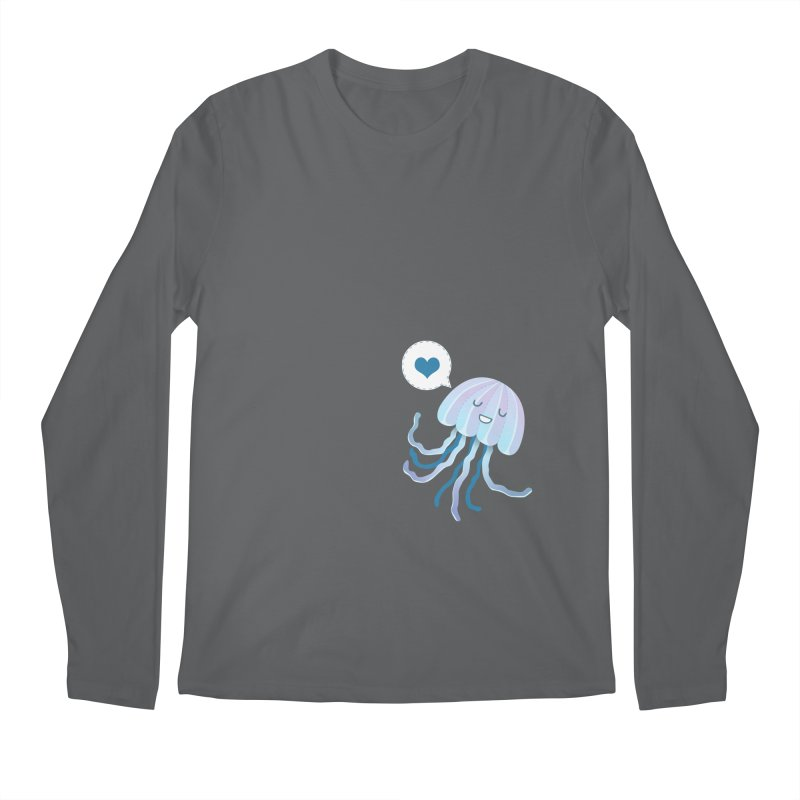 Jelly! Men's Longsleeve T-Shirt by Damien Mason's Artist Shop