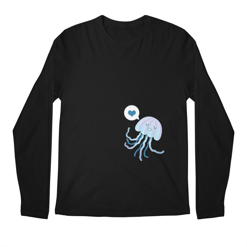 Jelly! Men's Longsleeve T-Shirt by Damien Mason's Artist Shop