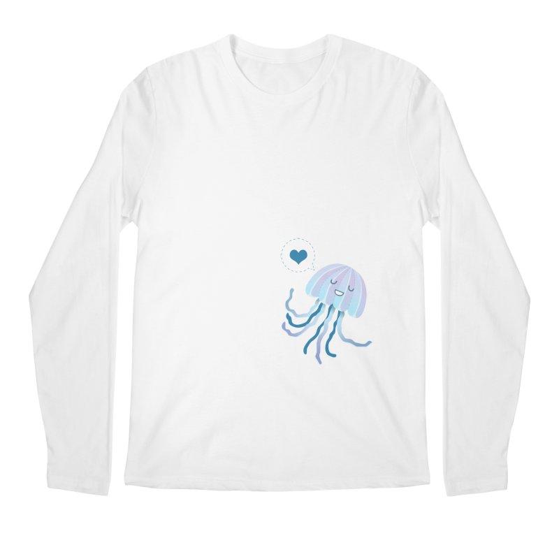 Jelly! Men's Regular Longsleeve T-Shirt by Damien Mason's Artist Shop