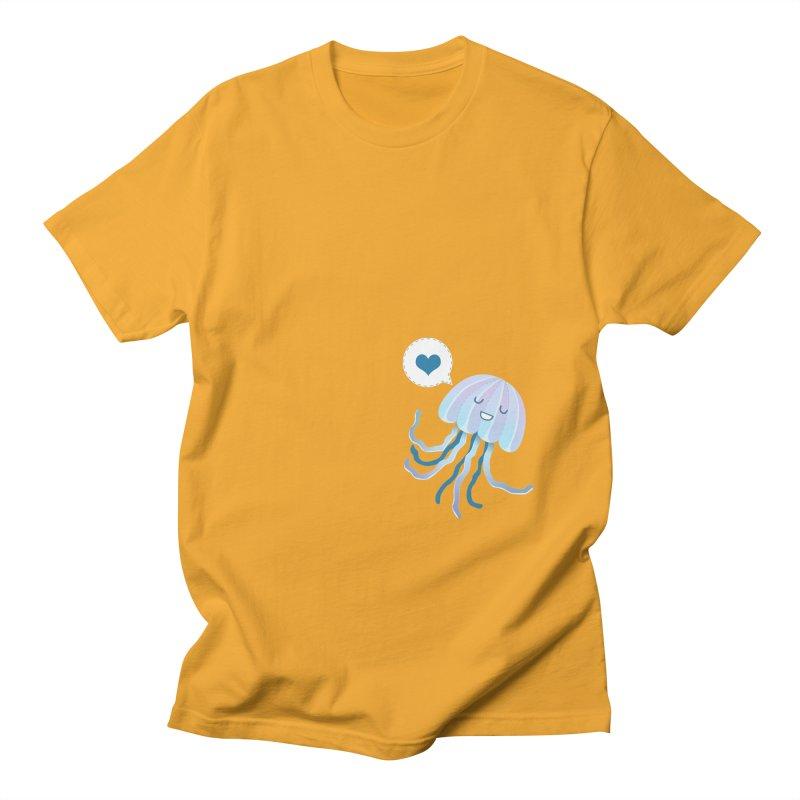 Jelly! Men's Regular T-Shirt by Damien Mason's Artist Shop
