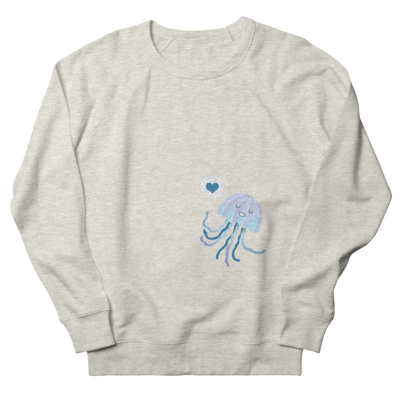 Jelly! Men's French Terry Sweatshirt by Damien Mason's Artist Shop
