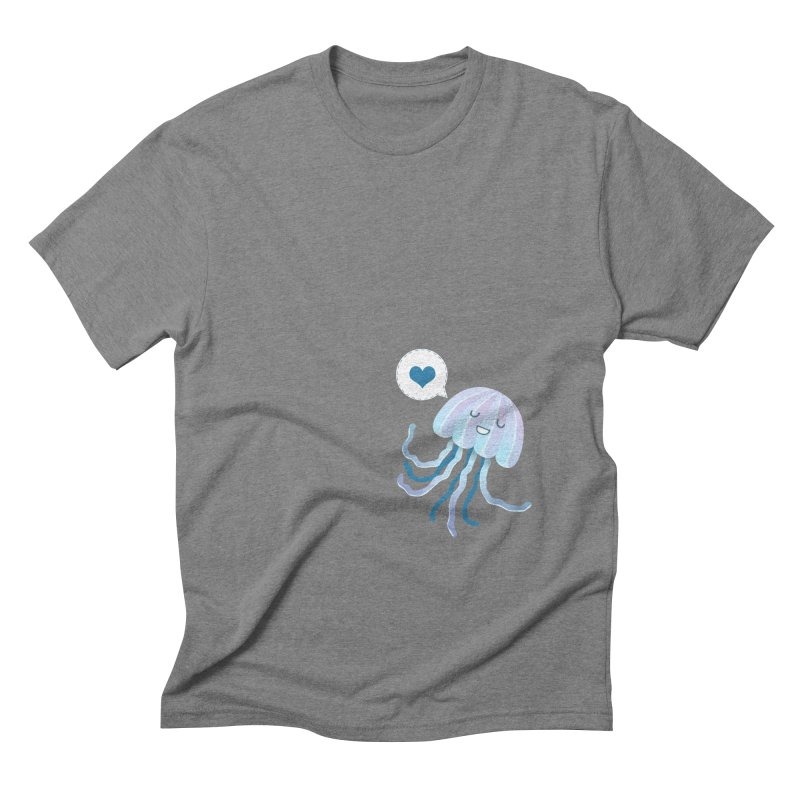 Jelly! Men's Triblend T-Shirt by Damien Mason's Artist Shop