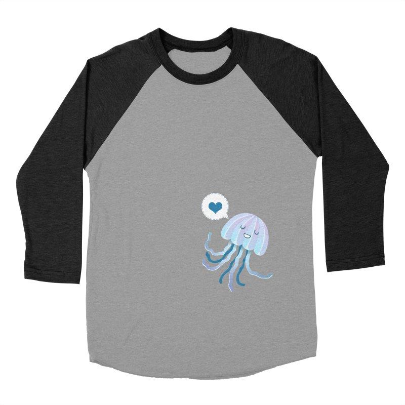 Jelly! Men's Baseball Triblend T-Shirt by Damien Mason's Artist Shop