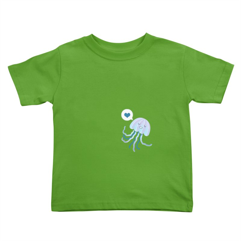 Jelly! Kids Toddler T-Shirt by Damien Mason's Artist Shop