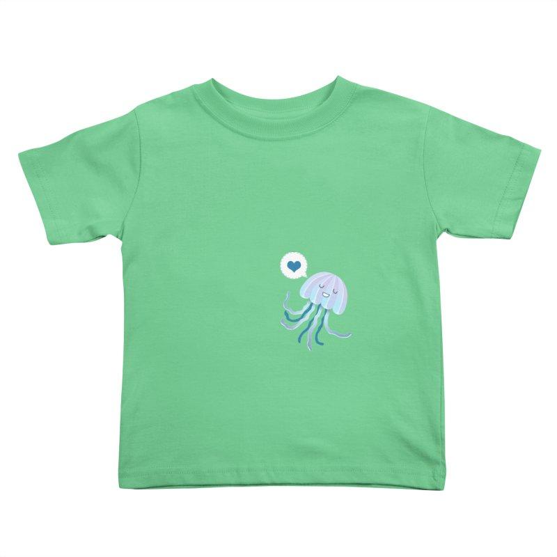 Jelly! Kids Toddler T-Shirt by Damien Mason's Artist Shop