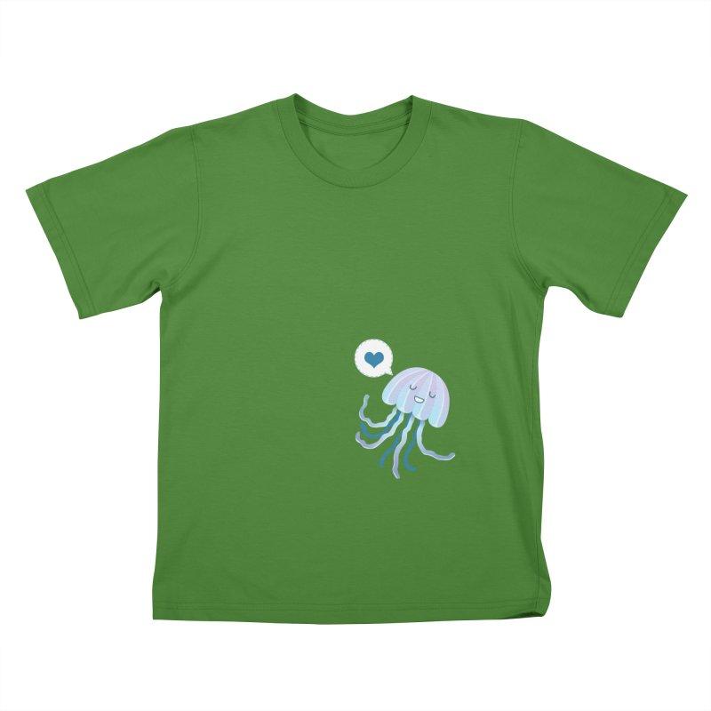 Jelly! Kids T-Shirt by Damien Mason's Artist Shop