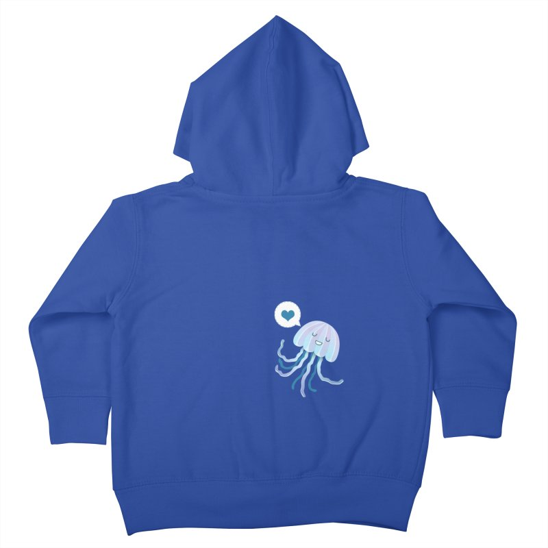 Jelly! Kids Toddler Zip-Up Hoody by Damien Mason's Artist Shop