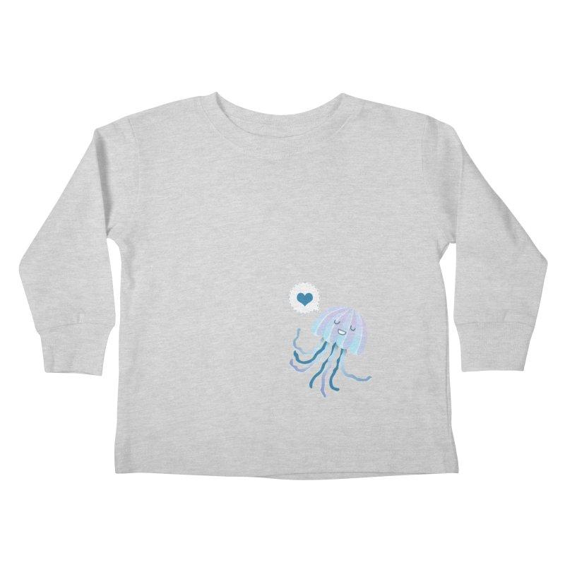Jelly! Kids Toddler Longsleeve T-Shirt by Damien Mason's Artist Shop