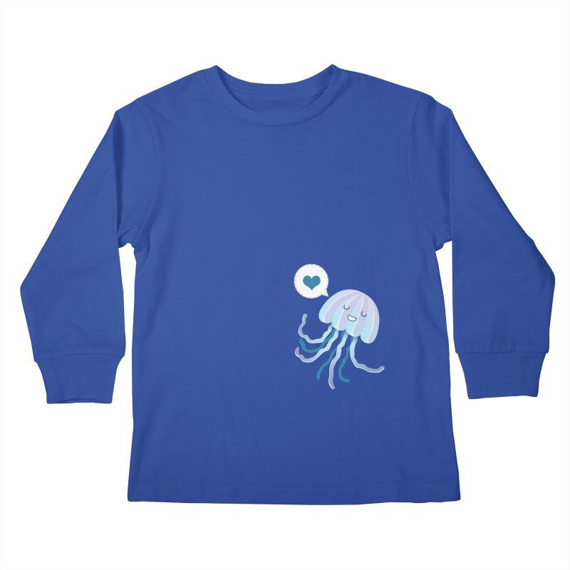 Jelly! Kids Longsleeve T-Shirt by Damien Mason's Artist Shop
