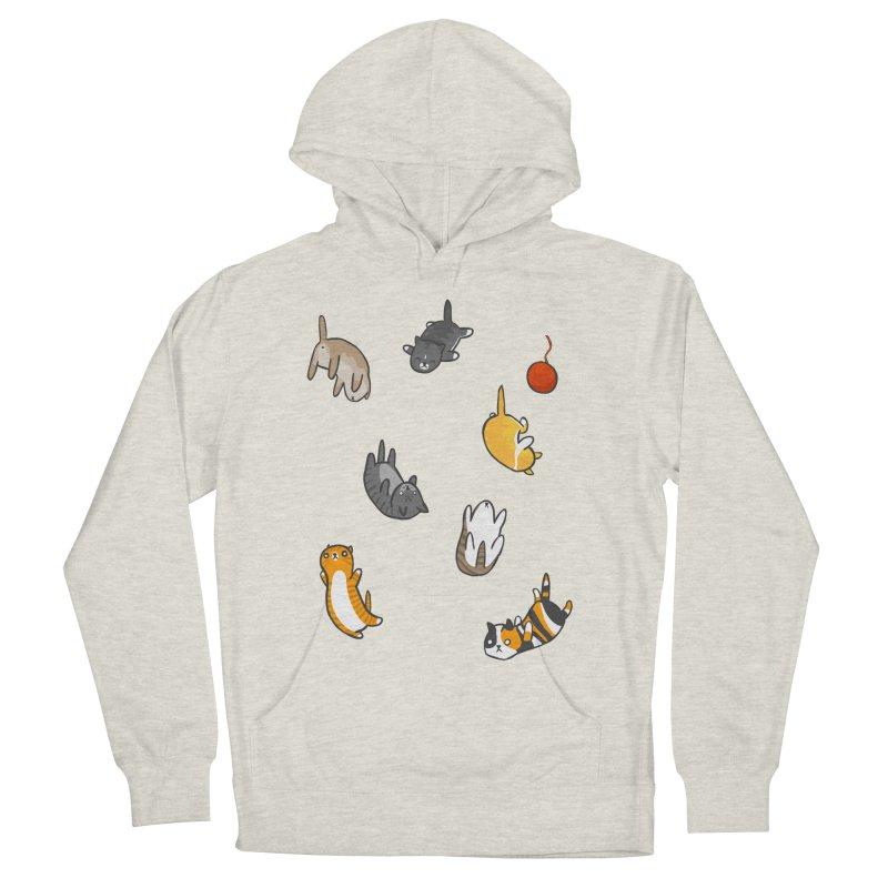 Kitten Rain Men's Pullover Hoody by Damien Mason's Artist Shop