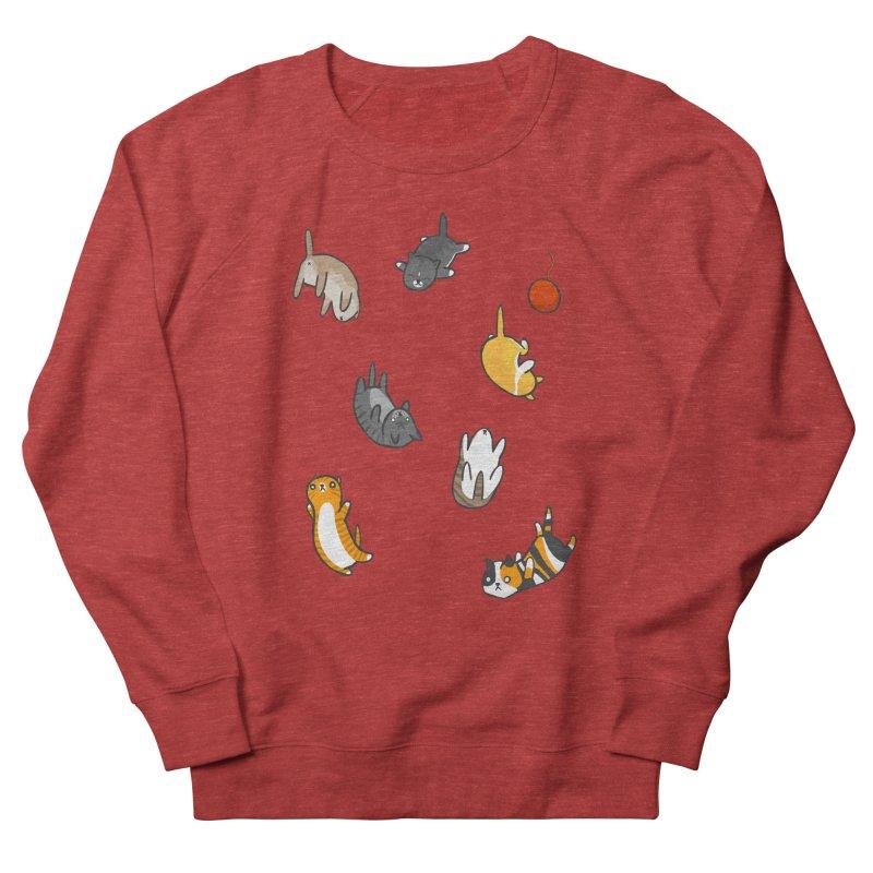 Kitten Rain Women's Sweatshirt by Damien Mason's Artist Shop
