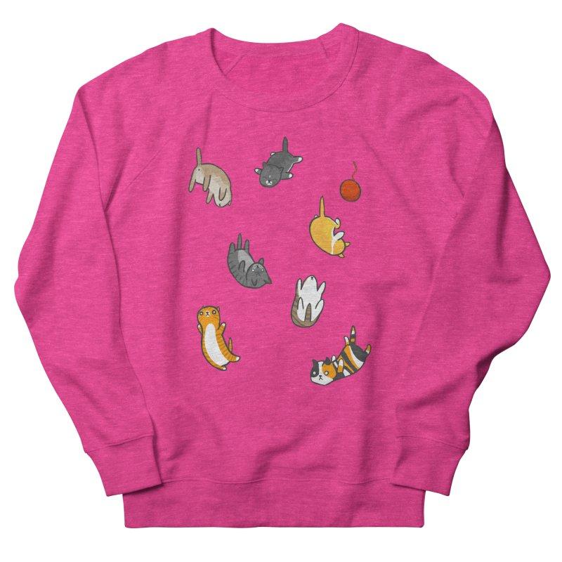 Kitten Rain Men's Sweatshirt by Damien Mason's Artist Shop