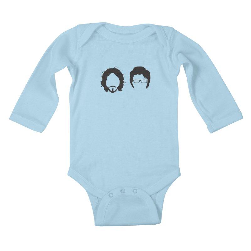FotC Kids Baby Longsleeve Bodysuit by Damien Mason's Artist Shop
