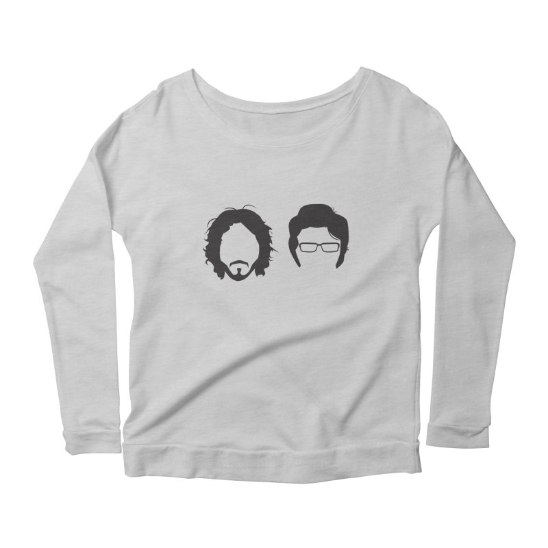 FotC Women's Scoop Neck Longsleeve T-Shirt by Damien Mason's Artist Shop