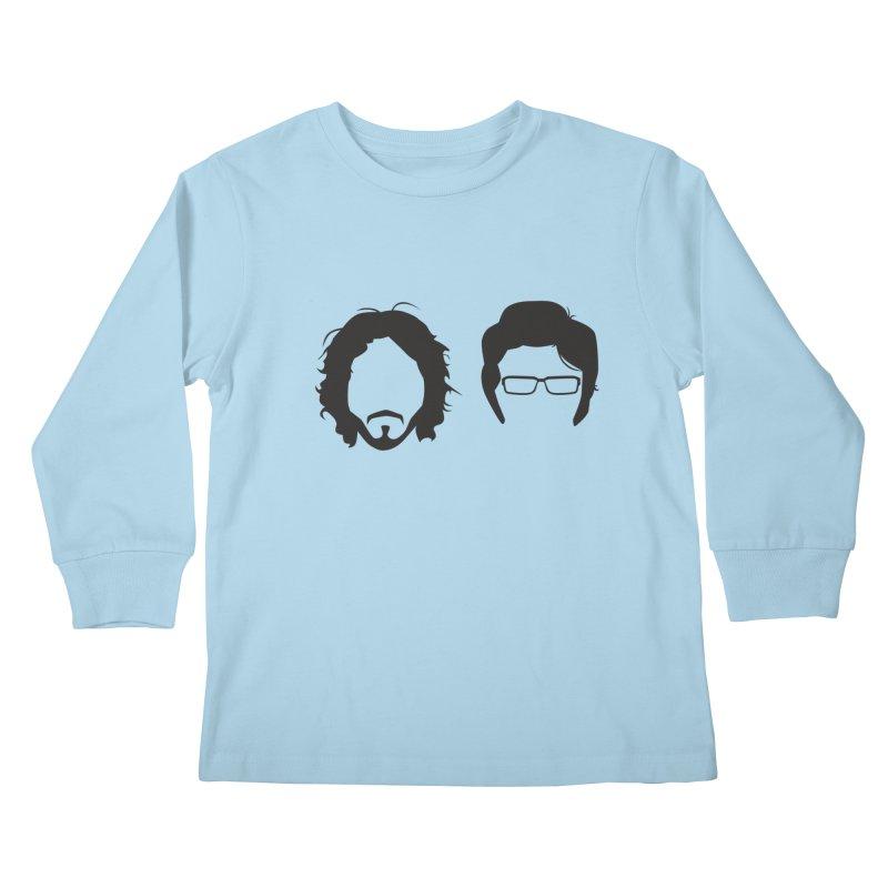 FotC Kids Longsleeve T-Shirt by Damien Mason's Artist Shop